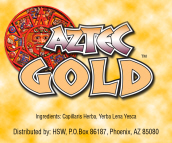 Aztec Gold Herbal Smoke Blend - 100% legal alternative