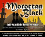 Moroccan Black Solid Smoke