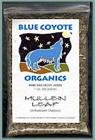 Buy Blue Coyote Organic Mullein at DotCrawler.Com